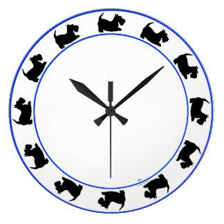 Reloj de Terrier del escocés