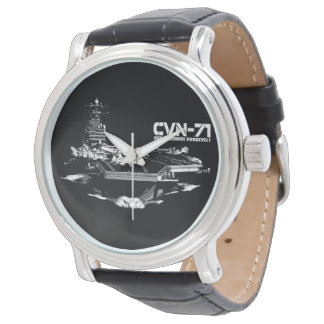 Reloj de Theodore Roosevelt Ewatch de portaaviones