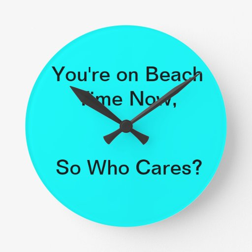 Reloj de tiempo de la playa