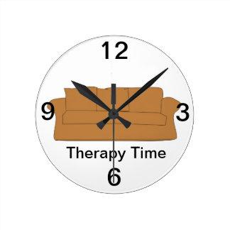 Reloj de tiempo de la terapia