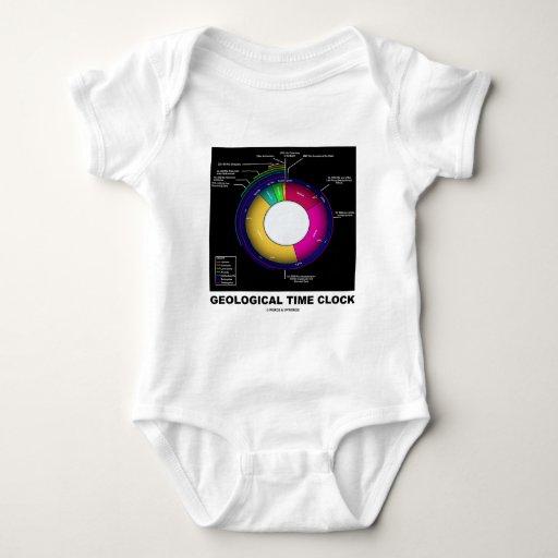 Reloj de tiempo geológico (geología) body para bebé