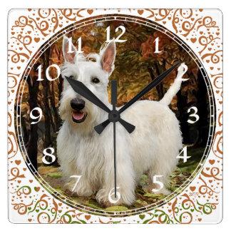 Reloj de trigo de Terrier del escocés