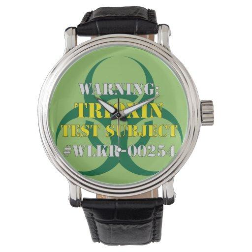 Reloj de Trioxin del zombi