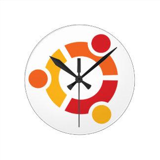 Reloj de Ubuntu
