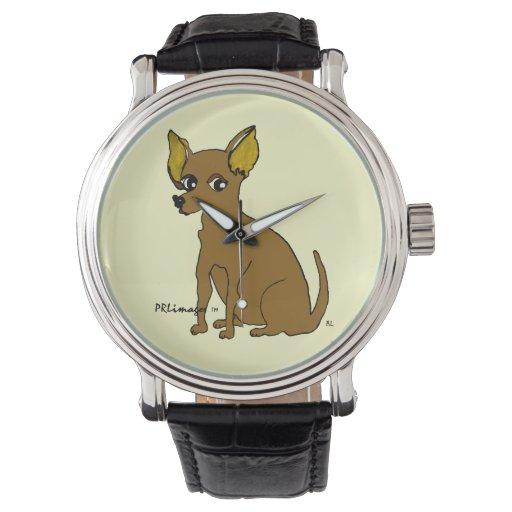 Reloj de Vincent de la chihuahua