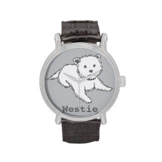 Reloj de Westie