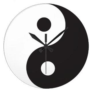 Reloj de Yin Yang
