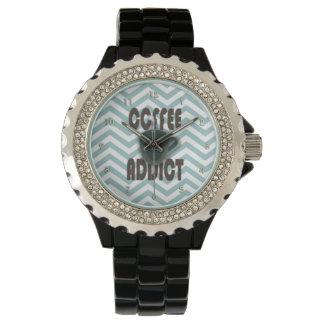 Reloj del adicto al café de Leslie Harlow 110