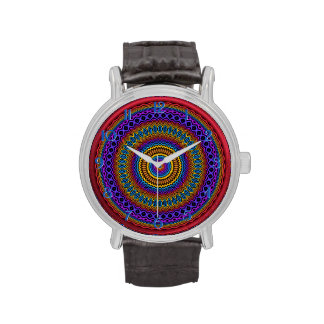 Reloj del adorno del Spirograph de Guilloché