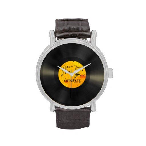 Reloj del álbum de registro