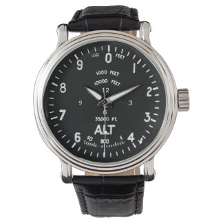 Reloj del altímetro del Spitfire de Supermarine
