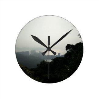 Reloj del amanecer de Hong Kong