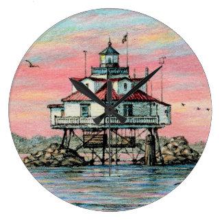 Reloj del amanecer del punto de Paul McGehee