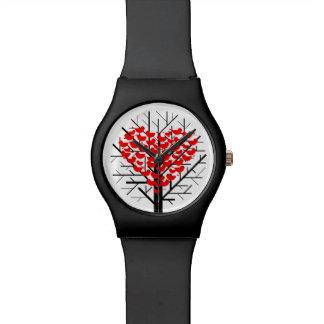 """Reloj del amor de las mujeres """"pájaros"""""""