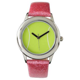 Reloj del amor del tenis