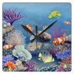 Reloj del arrecife de coral