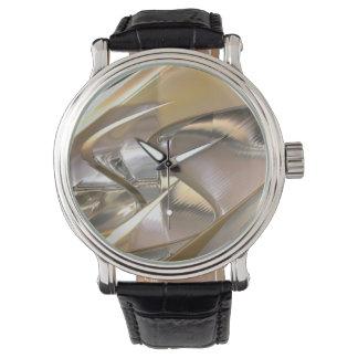 Reloj del arte 2-7 del metal de la ciencia ficción