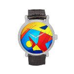 Reloj del arte abstracto