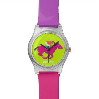 Reloj del arte Caballo de raza