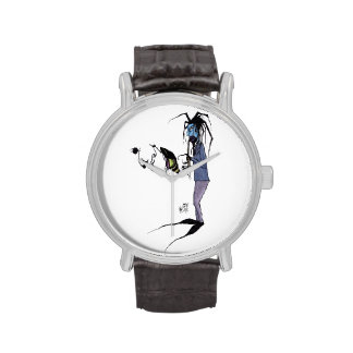 Reloj del arte de Jake del Bluesman de Tricia