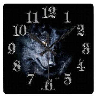 Reloj del arte del Fauna-Partidario del retrato