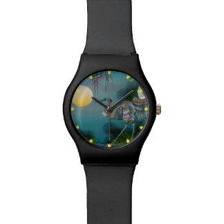 reloj del arte por el highsaltire