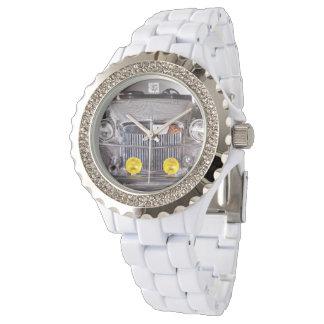 Reloj del automóvil descubierto de Liberace