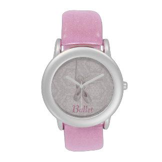 """Reloj del """"ballet"""""""