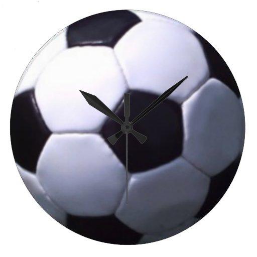 Reloj del balón de fútbol