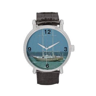 Reloj del barco de vela