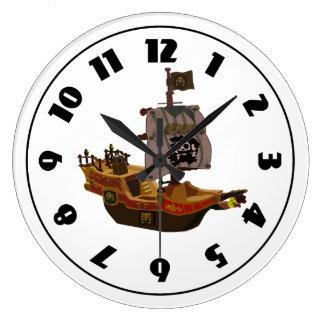 Reloj del barco pirata
