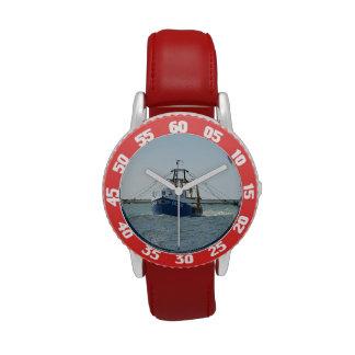 Reloj del barco rastreador de Lauren-Anne