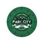 Reloj del bosque de Park City