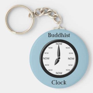 Reloj del budista del reloj llavero redondo tipo pin