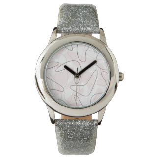 Reloj del bumerán de los años 50 del vintage