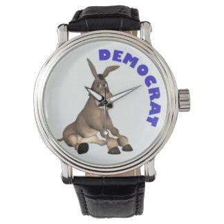 Reloj del burro de Demócrata