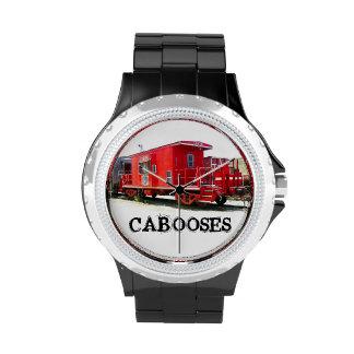 Reloj del Caboose del ferrocarril