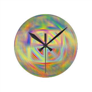 Reloj del caleidoscopio