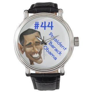 """Reloj del cambio de #44 Obama 'hora para"""""""