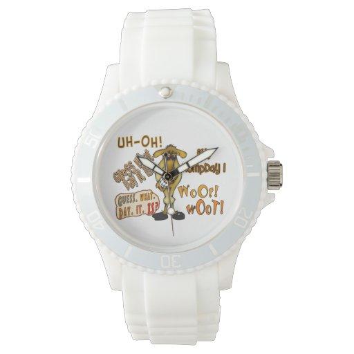 Reloj del camello del día de chepa