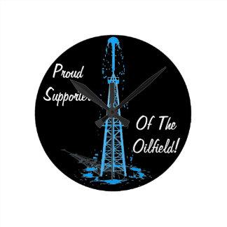 Reloj del campo petrolífero