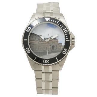Reloj del castillo de Edimburgo