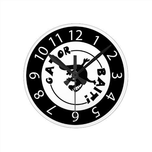 Reloj del cebo del cocodrilo
