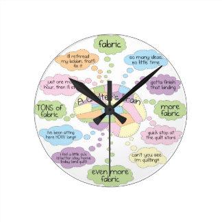 Reloj del cerebro del edredón