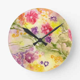 """Reloj del """"chapoteo floral"""""""