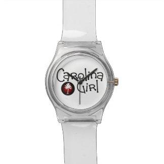 Reloj del chica de Carolina del Sur