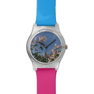 reloj del cielo de la orquídea