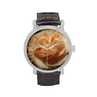 Reloj del clavel del melocotón