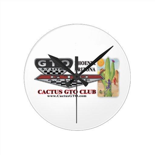 Reloj del club de CactuGTO
