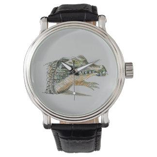 Reloj del cocodrilo